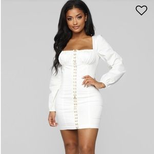 Fashionnova corset dress